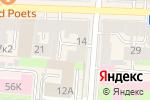 Схема проезда до компании Национальная телерадиологическая сеть в Санкт-Петербурге