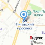 Центр медицинских осмотров и комиссий на карте Санкт-Петербурга