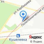 Топ-Сис на карте Санкт-Петербурга