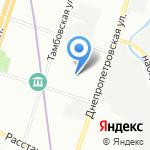 Омега на карте Санкт-Петербурга