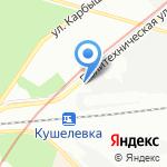 АвтоФон Северо-Запад на карте Санкт-Петербурга
