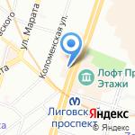 Solyanka Travel на карте Санкт-Петербурга