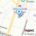 ЛУКОМ-А-Северо-Запад на карте Санкт-Петербурга