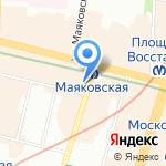 ПИНТА на карте Санкт-Петербурга