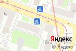 Схема проезда до компании КБ Юнистрим банк в Санкт-Петербурге