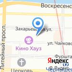 Главное управление Министерства юстиции РФ по г. Санкт-Петербургу на карте Санкт-Петербурга