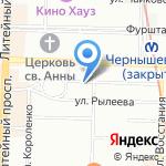 Необычно.ру на карте Санкт-Петербурга