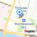 ЭКРОС-ТРЕВЕЛ на карте Санкт-Петербурга