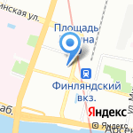 Буквоед на карте Санкт-Петербурга