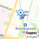 Почтовое отделение №9 на карте Санкт-Петербурга