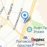 Открытые Мастерские на карте Санкт-Петербурга
