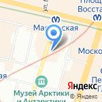 Жилкомсервис №2 Центрального района на карте Санкт-Петербурга