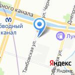 Невская Строительная Лаборатория на карте Санкт-Петербурга
