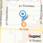 Заправка №1 на карте Санкт-Петербурга