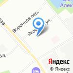 ДоМо на карте Санкт-Петербурга