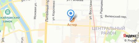 Эдуард Рублевский на карте Санкт-Петербурга