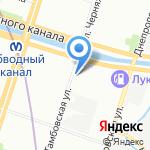 MDK-Сервис на карте Санкт-Петербурга