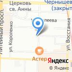 Российское Библейское Общество на карте Санкт-Петербурга