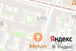 Схема проезда до компании На Коломенской в Санкт-Петербурге