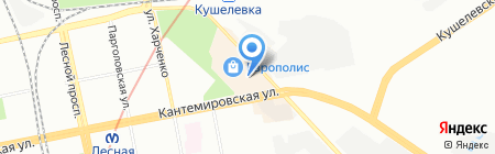 Банкомат БИНБАНК ПАО на карте Санкт-Петербурга
