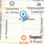 От корки до корки на карте Санкт-Петербурга
