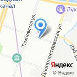 Паровые системы на карте Санкт-Петербурга