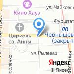Кладовая здоровья на карте Санкт-Петербурга