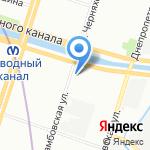 Симона на карте Санкт-Петербурга
