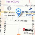 Avanti на карте Санкт-Петербурга