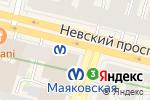 Схема проезда до компании Big Apple в Санкт-Петербурге