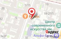 Схема проезда до компании Самсон в Санкт-Петербурге