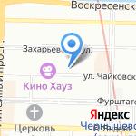 Управление экономической безопасности и противодействия коррупции на карте Санкт-Петербурга