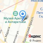 Egoista на карте Санкт-Петербурга