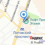 ЗооПочта на карте Санкт-Петербурга