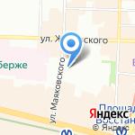 Городской акушерский гематологический центр на карте Санкт-Петербурга