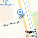 Суппорт 7 на карте Санкт-Петербурга