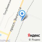 Эвистретч на карте Санкт-Петербурга