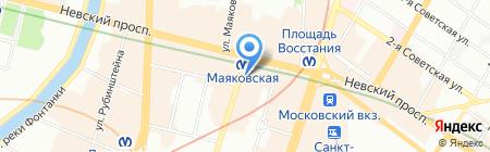 ЭРГО Русь ЗАСО на карте Санкт-Петербурга