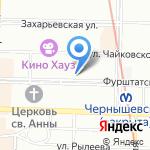 Санкт-Петербургский центр медицинского лицензирования на карте Санкт-Петербурга