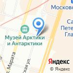 Фэн Шуй на карте Санкт-Петербурга