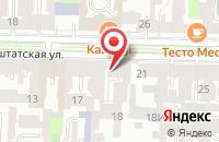 Схема проезда до компании Керкол в Санкт-Петербурге