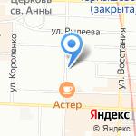 Управление Государственной фельдъегерской службы РФ по Северо-Западному федеральному округу на карте Санкт-Петербурга