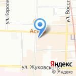 Авгур на карте Санкт-Петербурга