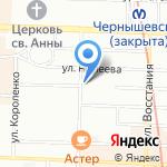 Еврофасон на карте Санкт-Петербурга