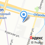 Рёхлинг Инжиниринг Пластикс на карте Санкт-Петербурга
