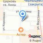 Киннард на карте Санкт-Петербурга