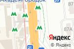 Схема проезда до компании Магазин сувениров в