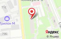 Схема проезда до компании Торгтранс в Санкт-Петербурге