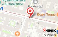 Схема проезда до компании Эклектик Мэгэзинс в Санкт-Петербурге