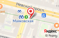Схема проезда до компании Мва Консалт в Санкт-Петербурге